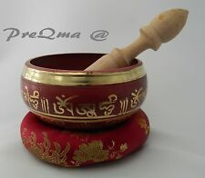 """4.5"""" Tibetan Singing Bowl for  Meditation with Cushion and Mallet 3 day delivery"""