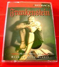 Mary Shelley Frankenstein 2-Tape Audio Book Julie Harris Monster/Horror