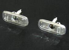 AUDI A2 A3 A4 A6 TT PAIR FRONT WING SIDE INDICATOR SET CLEAR L+R OEM: 4EO949127