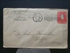 Classic Cover 2c Washington red Stationary 1906 Machine Cancel