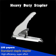 100 Sheets Heavy Duty Metal Stapler Document Paper Bookbinder