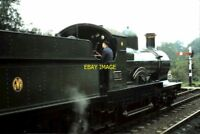 PHOTO  GWR 3217 GWR EARL OF BERKELEY AT THE BLUEBELL RAILWAY 1969