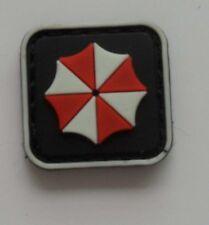 Resident Evil Umberlla LOGO PVC 3D Rubber Mini HOOK Patch