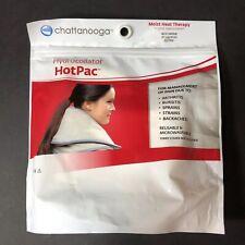 "Chattanooga HotPac Hydrocollator Moist Heat Hot Pack Neck Contour 24"" Long"
