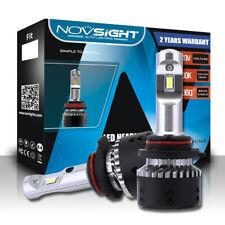 NOVSIGHT 2x 9006/HB4 70W LED Headlight Light Bulbs Replacement Kit Halogen White