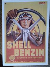 Shell Werbungen für Benzin & Tankstelle