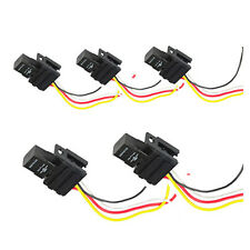 5Pack 12V 30A SPST Relay For Electric Fan Fuel Pump Horn Car Kit 4P 4 Wire HS