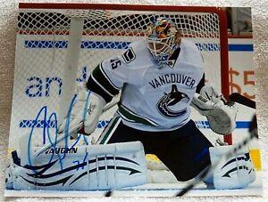 Vancouver Canucks Cory Schneider Signed 8x10 Photo Auto