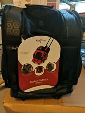 """Gen 7 Pets Rc1000 Roller Carrier Backpack up to 10lbs Black 19x10.5x16.5"""" New"""