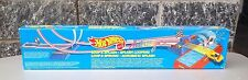 1989#Hot Wheels Micro Color Racers Loop & Splash Stunt Playset Track  Nib