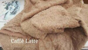 1/8 Metre Of Antique Style German Viscose (Caffe Latte)