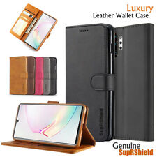 Fr Samsung Galaxy Note10+ Plus Note8 9 S6 S7 Edge Wallet Case Leather Flip Cover