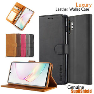 For Samsung Galaxy Note 10 20 Plus 8 9 S6 S7 Edge Wallet Case Leather Flip Cover