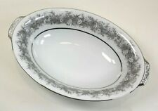 Sango Fine China, Florentine, 1953 Pattern #2271 Oval Serving Bowl 10 7/8""