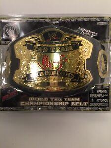 Wwe Jakks Pacific 2007 World Tag Team Championship Belt New 12+