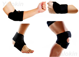 Thumb Wrist, Elbow, Knee, Ankle Strap Brace for Recovery, Injury Support (ST8)