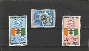Ivory Coast 1974 Centenary of the UPU Set MNH
