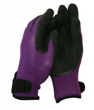 Town & Country Weedmaster Plus Gloves Plum Purple & Black in Small Womens