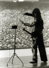 More details for led zeppelin poster page . 1977 oakland coliseum jimmy page & theremin .g27