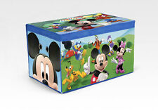 Disney Mickey Mouse Collapsible Fabric Toy Box. HUGE Saving