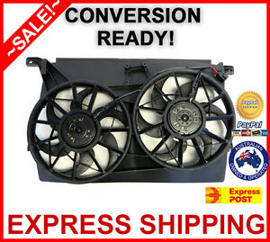 Genuine Ford Falcon BA 02-05 Radiator Thermo Cooling Fan Assembly Unit - Express