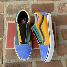 Vans Classic Old Skool Mix and Match Mens Cadmium Yellow Skateboarding 11 12 New