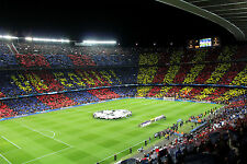 Football Soccer Stadium Barcelona fc Wall Mural Photo Wallpaper GIANT WALL DECOR