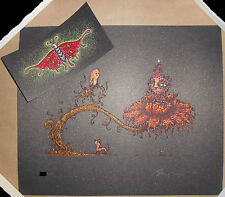 Marq Spusta Up On In It + Hug A Bug Mini Screen Print Poster SET Signed #d /500