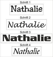Namen Auto Sticker Wunschname Beschriftung Folie 3,5 cm hoch Tuning Aufkleber