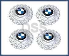 "Genuine BMW E24 E32 E34 Set of 4 Wheel Center Caps 15"" Style 5 Cross-Spoke Wheel"