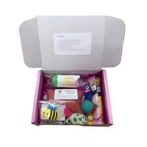 Exclusive Kitty Cat Kitten Fun Gift Box Full of Toys & Sheba Treats Great Value