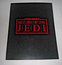 Star Wars Return of the Jedi Press Kit Folder 1983 LucasFilm Ltd