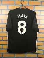 Mata Manchester United Jersey 2017 2018 Away L Shirt BS1217 Soccer Adidas Trikot