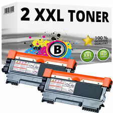 2x Toner für Brother DCP7055w DCP7057e HL2130 HL2132e HL2135w FAX 2840 2845 2940