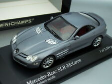 1/43 Minichamps MERCEDES BENZ SLR McLAREN 2003 (DARK SILVER)