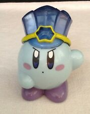 "Nintendo HAL - Blue Ice Kirby Figure Toy 4"" Pull-Back Toy 2003 - Rare"