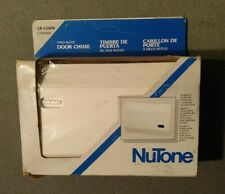 NEW VINTAGE NUTONE 2 NOTE DOOR CHIME LB-12WW Contour, UPC 784891991356, Made USA