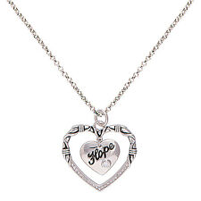 Montana Silversmiths - A Cowgirls Heart of Hope Necklace - ( NC1477 ) - New