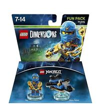 LEGO DIMENSIONS: JAY FUN PACK 71215 - NEW & SEALED