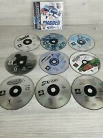 Sony Playstation 1 Psone PS1 Games Lot Of 10 SCRATCHED Games UNTESTED