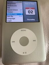 ipod classic 7th generation 160gb Silver