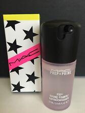 MAC ROSE Prep Prime FIX + Plus Setting Spray 1oz Mist LImited Edition