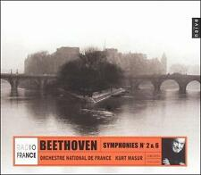 Beethoven: Symphonies No. 2 & 6, New Music