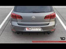 VW Golf 6 GTI GTD Heckansatz Diffusor Heckdiffusor Heckschürze VI R GTD
