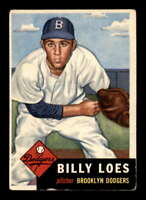 1953 Topps #174 Billy Loes  VGEX X1560627