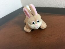 Vintage 1996 Mini Pound Bunnies Plush Rabbit by Lewis Galoob small Toy Bunny