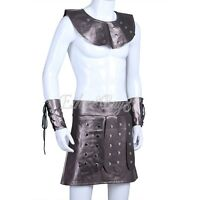 Achilles Roman Gladiator Soldier Greek God Mens Fancy Dress Costume Outfit
