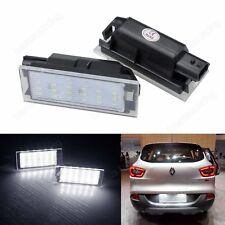 Renault LED Licence Number Plate Light Lamp Clio Twingo Megane Laguna No Error