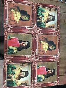 Vintage Tretchikoff Ladies Set Of 6 Place Mats Placemats Table Mats Kitsch Retro