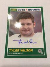 2013 Score Tyler Wilson #434 Auto RC SP Rookie